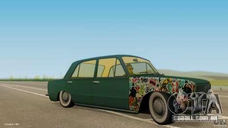 Baixo 2101 VAZ & Classic para GTA San Andreas