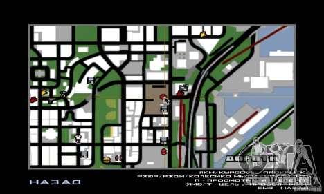 Guerra aérea para GTA San Andreas oitavo tela