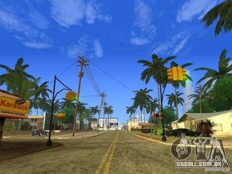 BM Timecyc v1.1 Real Sky para GTA San Andreas por diante tela