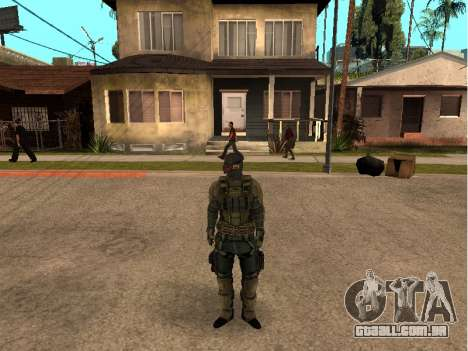O engenheiro do exército de pele para GTA San Andreas