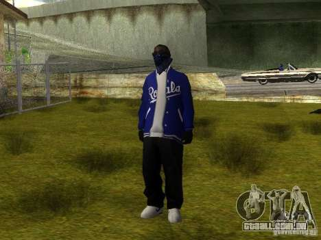 Crips para GTA San Andreas sétima tela