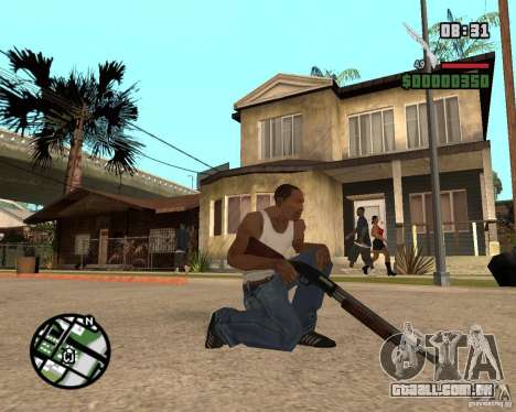 Chromegun HD para GTA San Andreas
