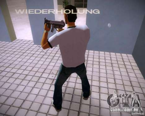 MP5K para GTA Vice City terceira tela