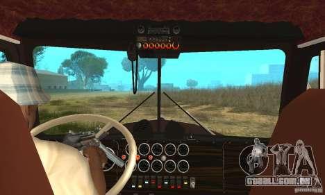 Kenworth Car Hauler para GTA San Andreas vista direita