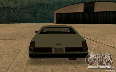 FBI Washington para GTA San Andreas vista direita