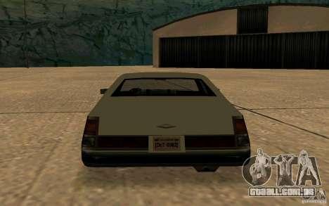 FBI Washington para GTA San Andreas vista direita