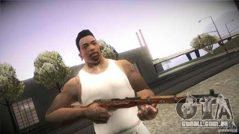 Weapon Pack by GVC Team para GTA San Andreas nono tela