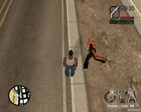 Endorphin Mod v.3 para GTA San Andreas sétima tela