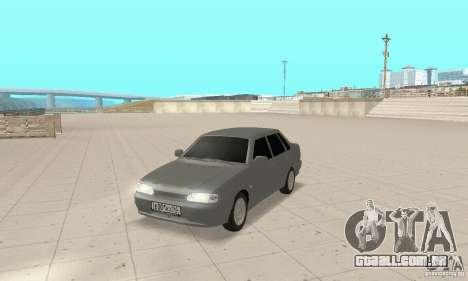 TUN VAZ 2115 para GTA San Andreas