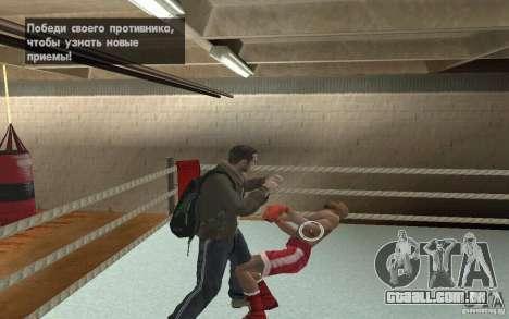 O sistema de luta do GTA IV V 3.0 para GTA San Andreas terceira tela