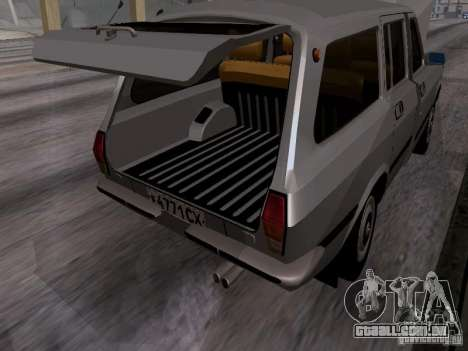 GAZ 24-12 SL Volga para GTA San Andreas vista interior