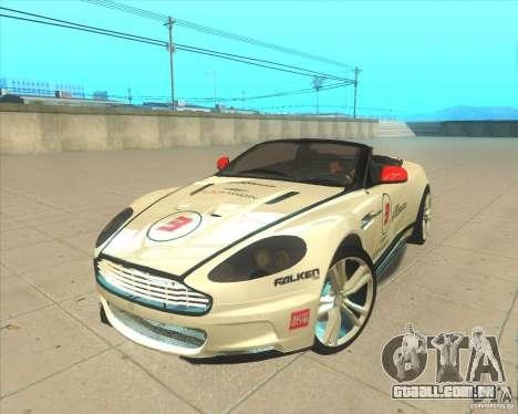 Aston Martin DBS Volante 2009 para GTA San Andreas vista interior