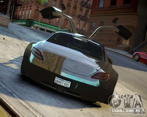 Mercedes SLS Extreme para GTA 4 vista lateral