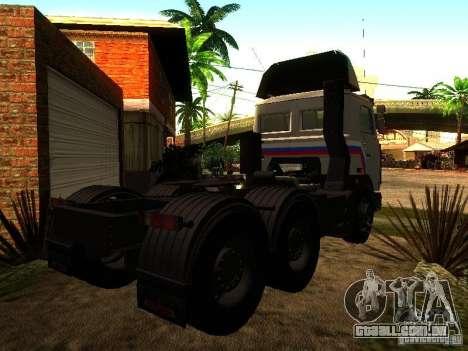 MAZ 642205 v 1.0 para GTA San Andreas vista direita