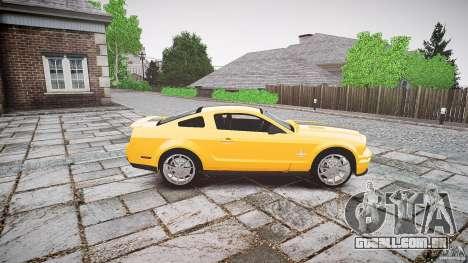 Shelby GT 500 KR 2008 K.I.T.T. para GTA 4 vista interior