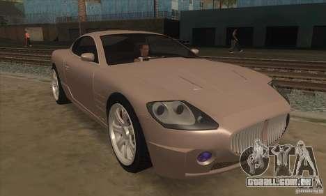 GTA IV F620 para GTA San Andreas vista traseira