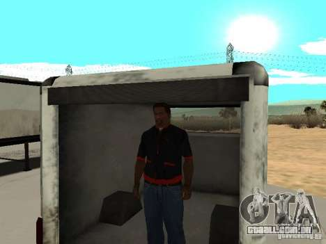 New Benson para GTA San Andreas vista direita