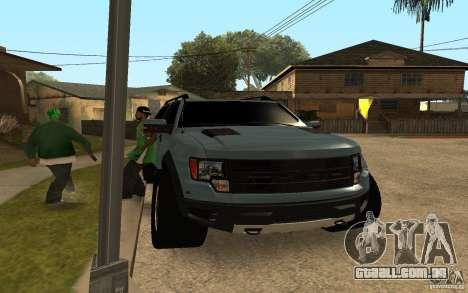 Ford Velociraptor para GTA San Andreas esquerda vista
