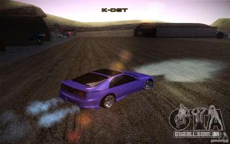 Nissan 300 ZX para GTA San Andreas vista direita