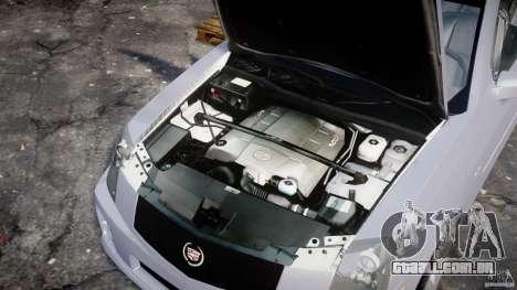 Cadillac CTS para GTA 4 vista direita