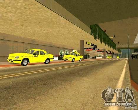 Priparkovanyj transporte v 3,0-de-Final para GTA San Andreas terceira tela