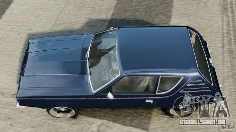 AMC Gremlin 1973 para GTA 4 vista direita