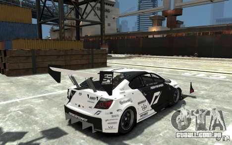 Scion tC AWD V1.0 para GTA 4 vista direita