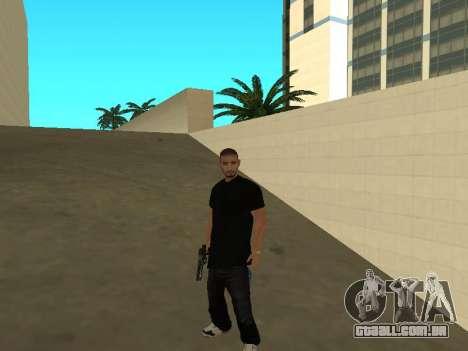 Black Rifa SkinPack para GTA San Andreas segunda tela