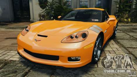 Chevrolet Corvette C6 Grand Sport 2010 para GTA 4