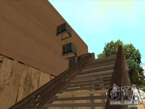 Mapa de Parkour e bmx para GTA San Andreas terceira tela