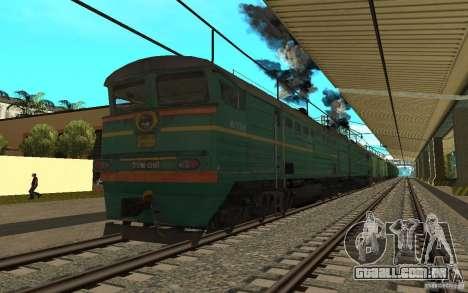 FERROVIÁRIA mod II para GTA San Andreas sexta tela
