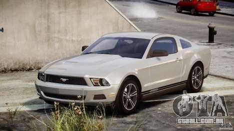 Ford Mustang V6 2010 Premium v1.0 para GTA 4
