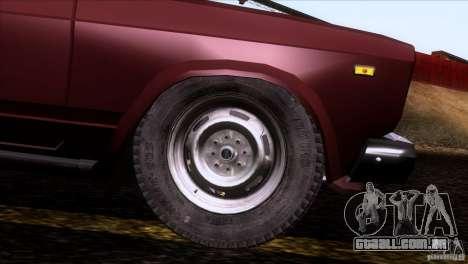 IZH 27175 para as rodas de GTA San Andreas