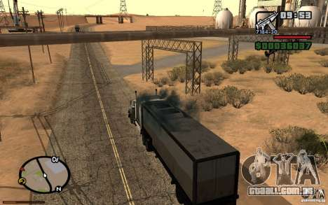 Painel ativo v. 3.2 (b) para GTA San Andreas quinto tela