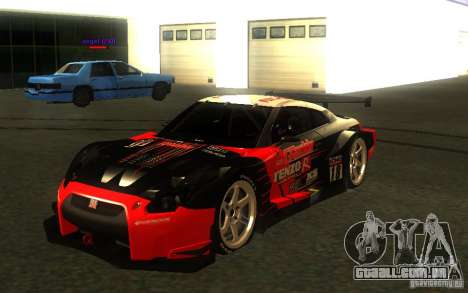 Nissan Skyline R35 GTR para as rodas de GTA San Andreas
