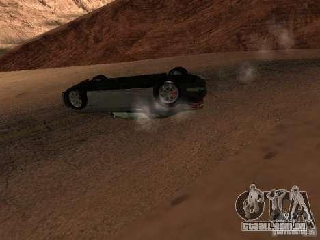 Não queimam carros tombados para GTA San Andreas sétima tela