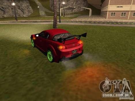 Mazda RX-8 R3 Tuned 2011 para o motor de GTA San Andreas