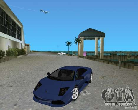 Lamborghini Murcielago LP640 para GTA Vice City