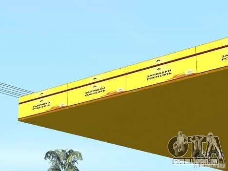 Novos postos de gasolina de texturas para GTA San Andreas sexta tela
