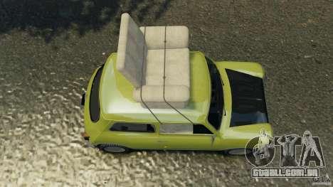 Mini Cooper para GTA 4 vista direita