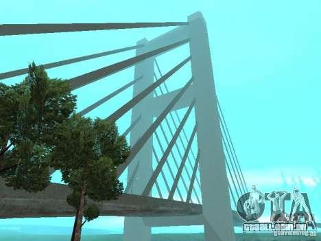 New Dubai mod para GTA San Andreas segunda tela