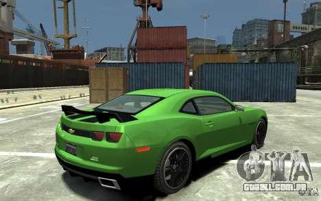 Chevrolet Camaro 2010 Synergy Edition v1.3 para GTA 4 vista direita