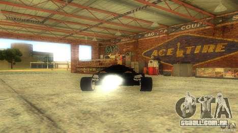 Lamborghini Concept para GTA San Andreas vista traseira