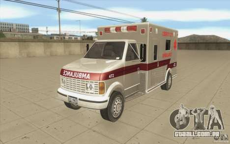 GTA3 HD Vehicles Tri-Pack III v.1.1 para vista lateral GTA San Andreas