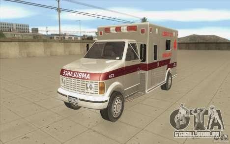 GTA3 HD Vehicles Tri-Pack III v.1.1 para vista lateral GTA San Andreas