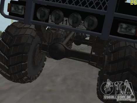 ZIL 497200 para GTA San Andreas vista traseira