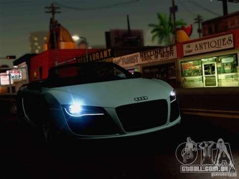 New Car Lights Effect para GTA San Andreas terceira tela