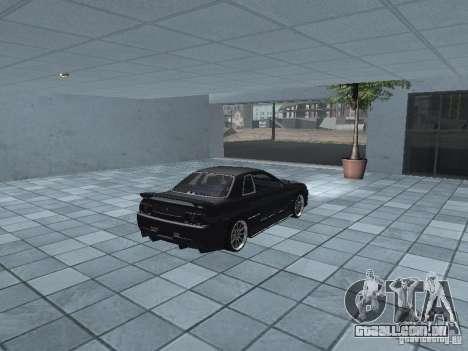 Nissan Skyline R32 Tuned para GTA San Andreas vista traseira