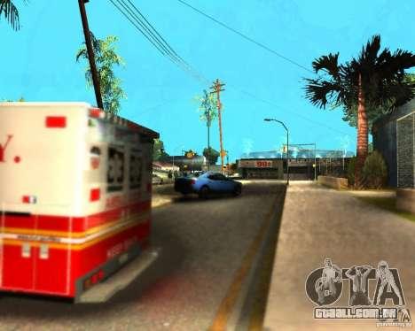 ENB For medium PC para GTA San Andreas sexta tela