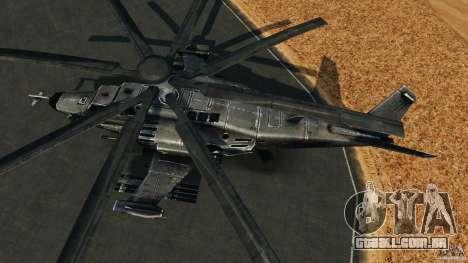 KA-50 Black Shark Modified para GTA 4 vista direita